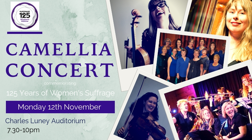 Camellia Concert - commemorating 125 Years Women's Suffrage