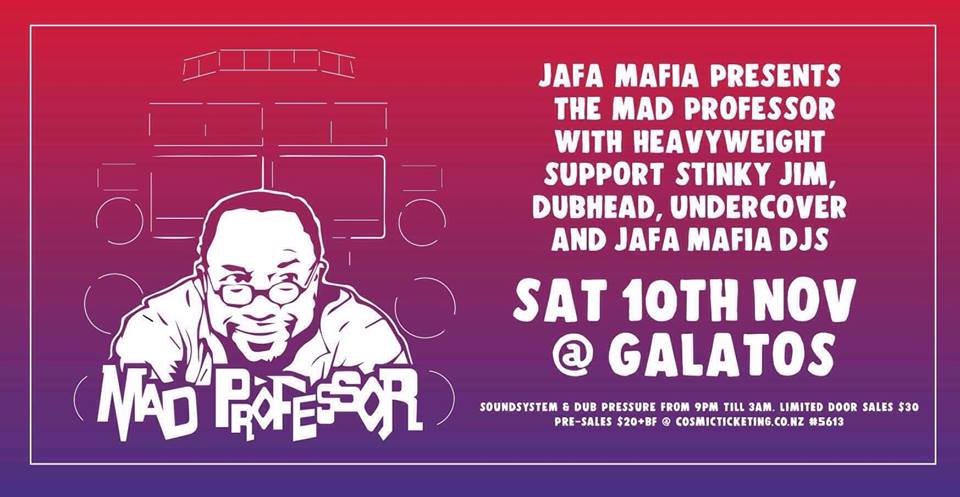 The Mad Professor, Stinky Jim, Dubhead, Jafa Mafia Djs