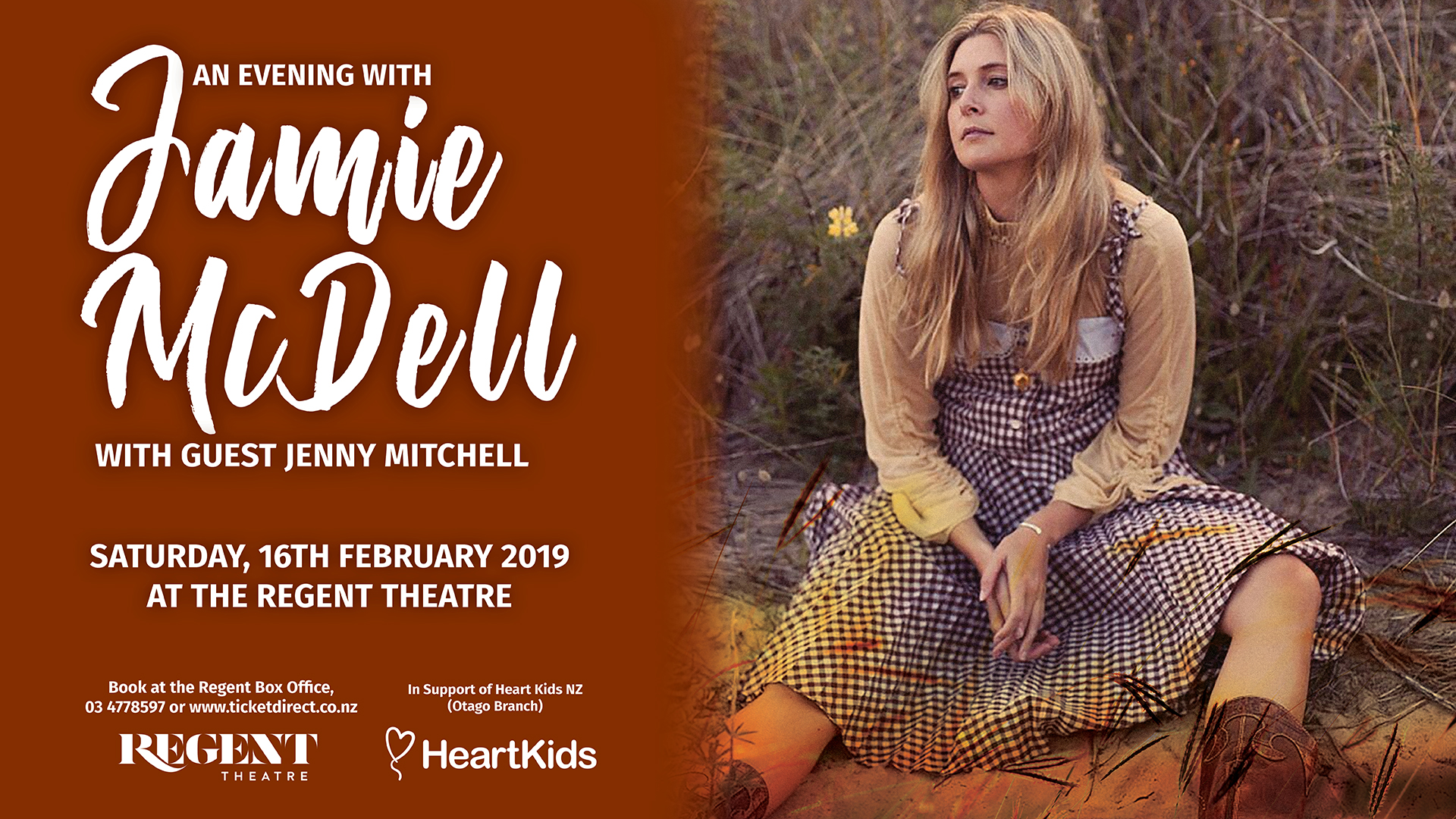 An Evening With Jamie Mcdell and Guest Jenny Mitchell
