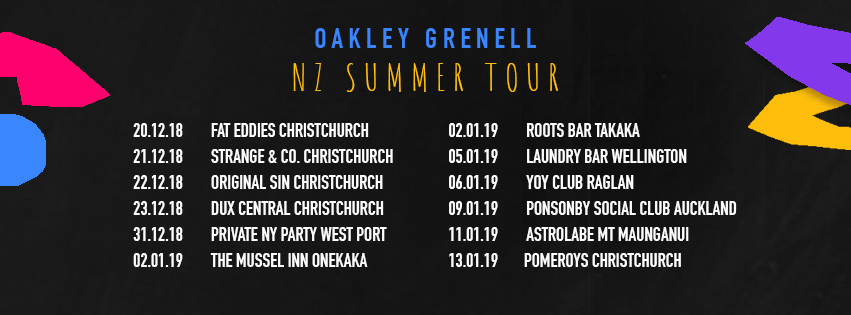 Oakley Grenell Summer Tour Live and Dj Set