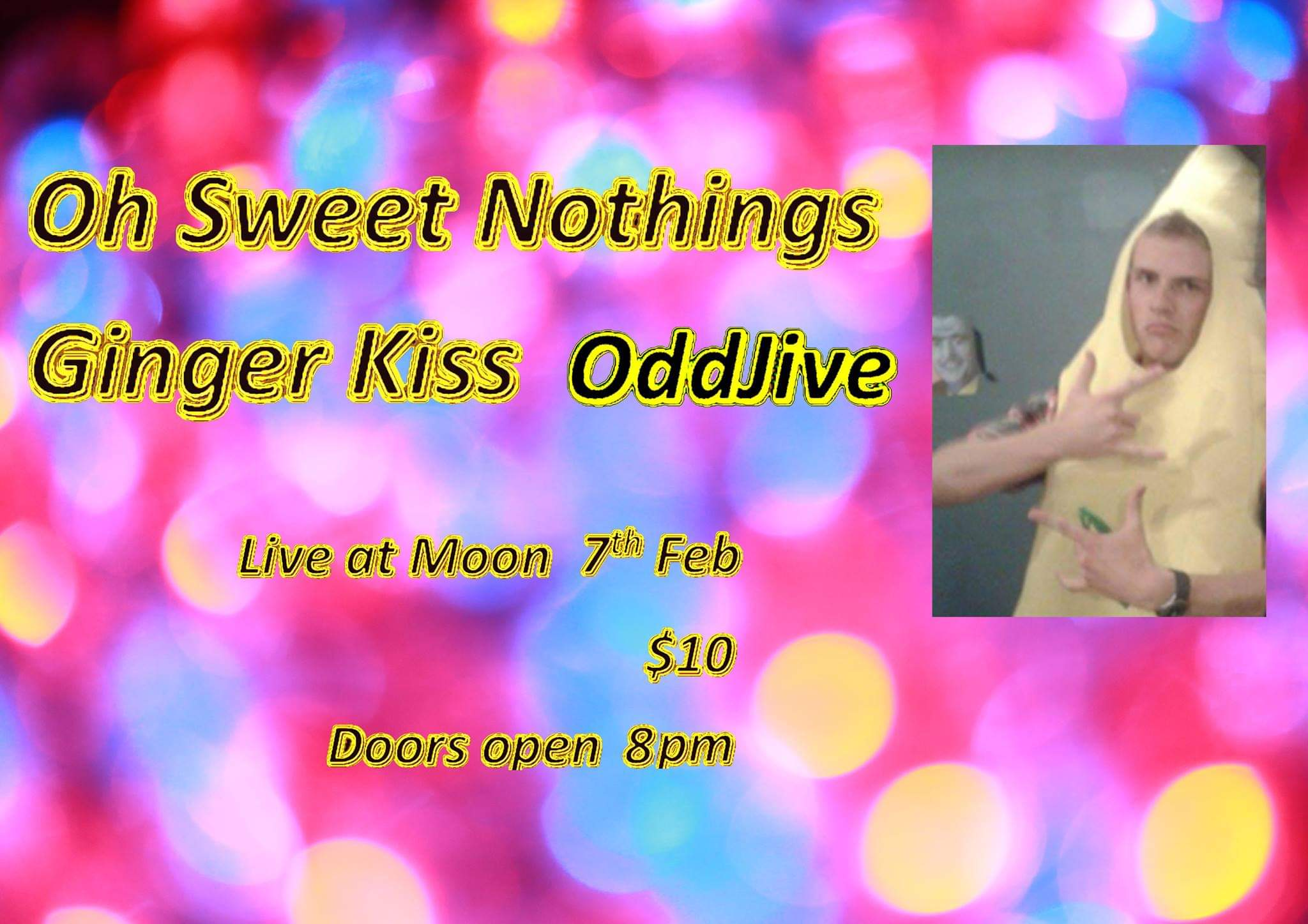 Oddjive, Oh Sweet Nothings, Ginger Kiss
