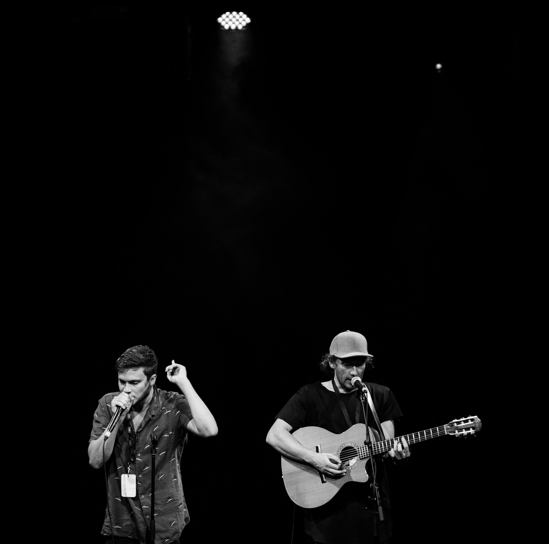 Jamie MacDowell and Tom Thum