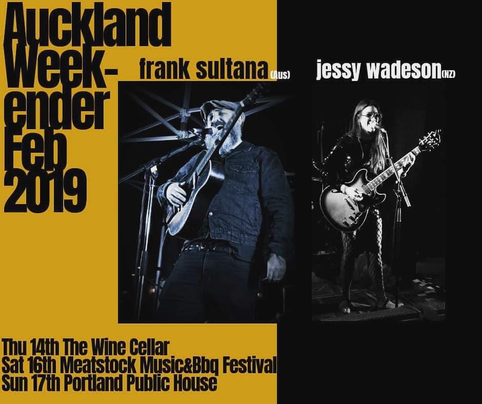 Frank Sultana and Jessy Wadeson