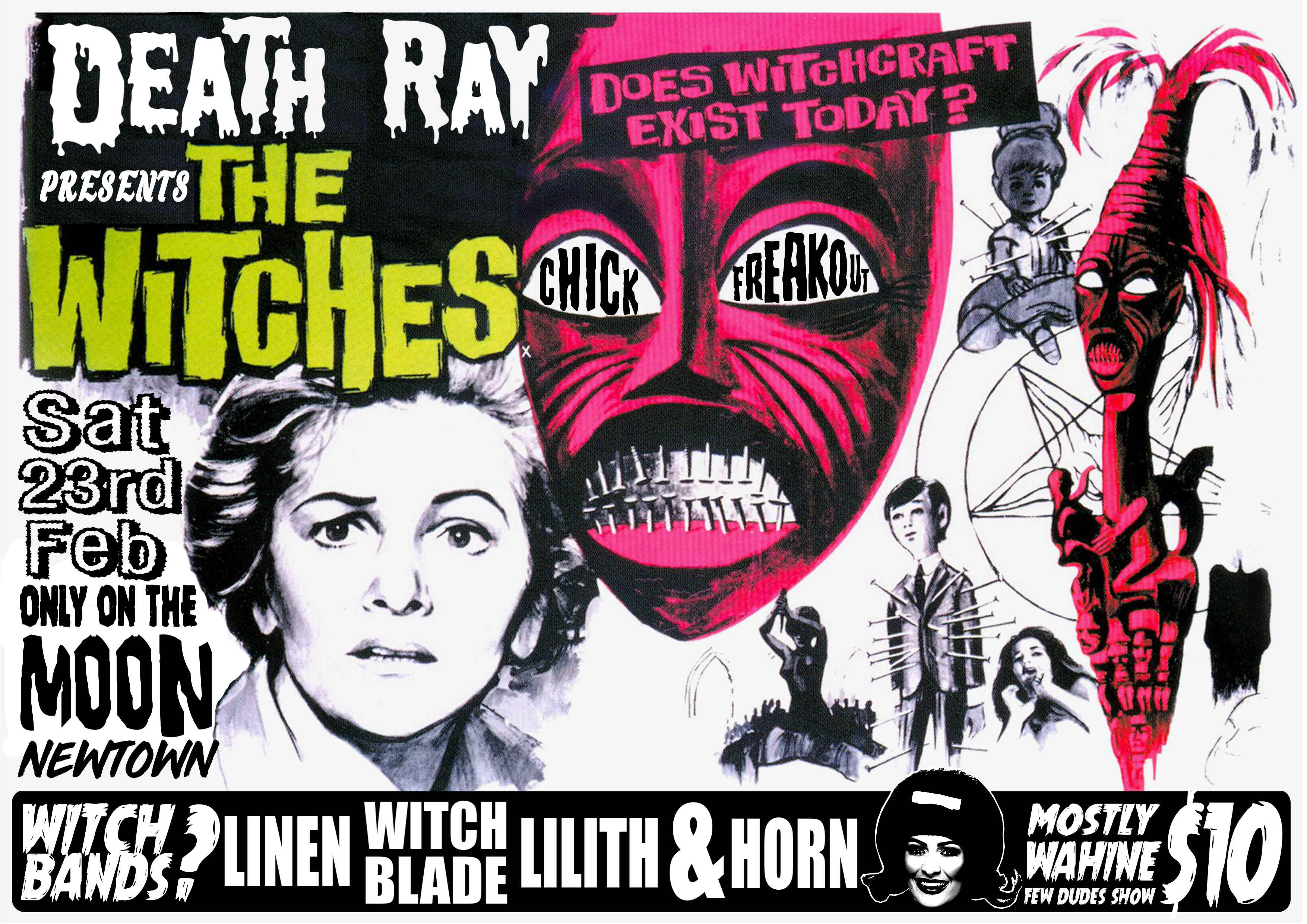Death Ray Records Presents Witches Freak Out