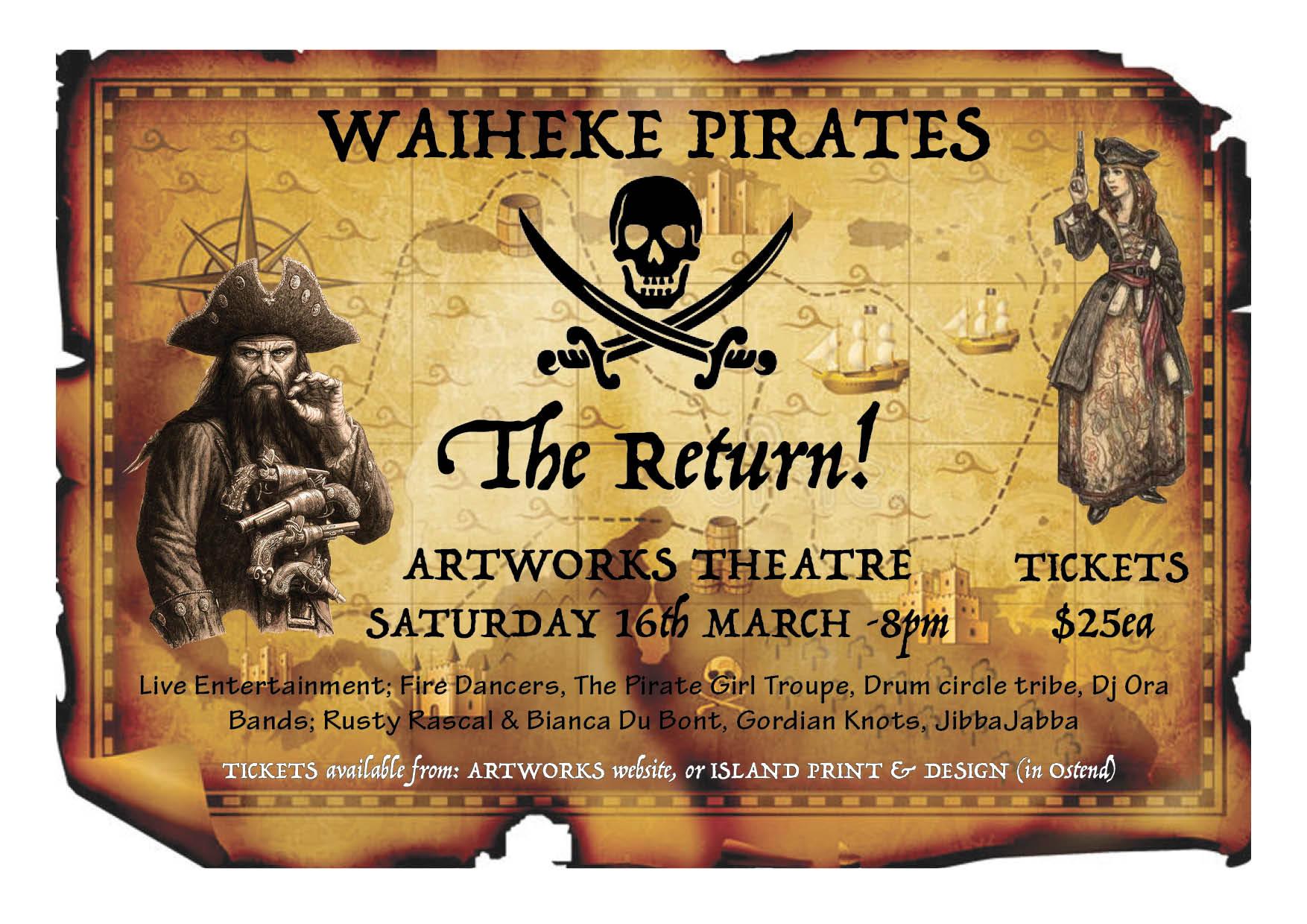 Waiheke Pirates - The Return!