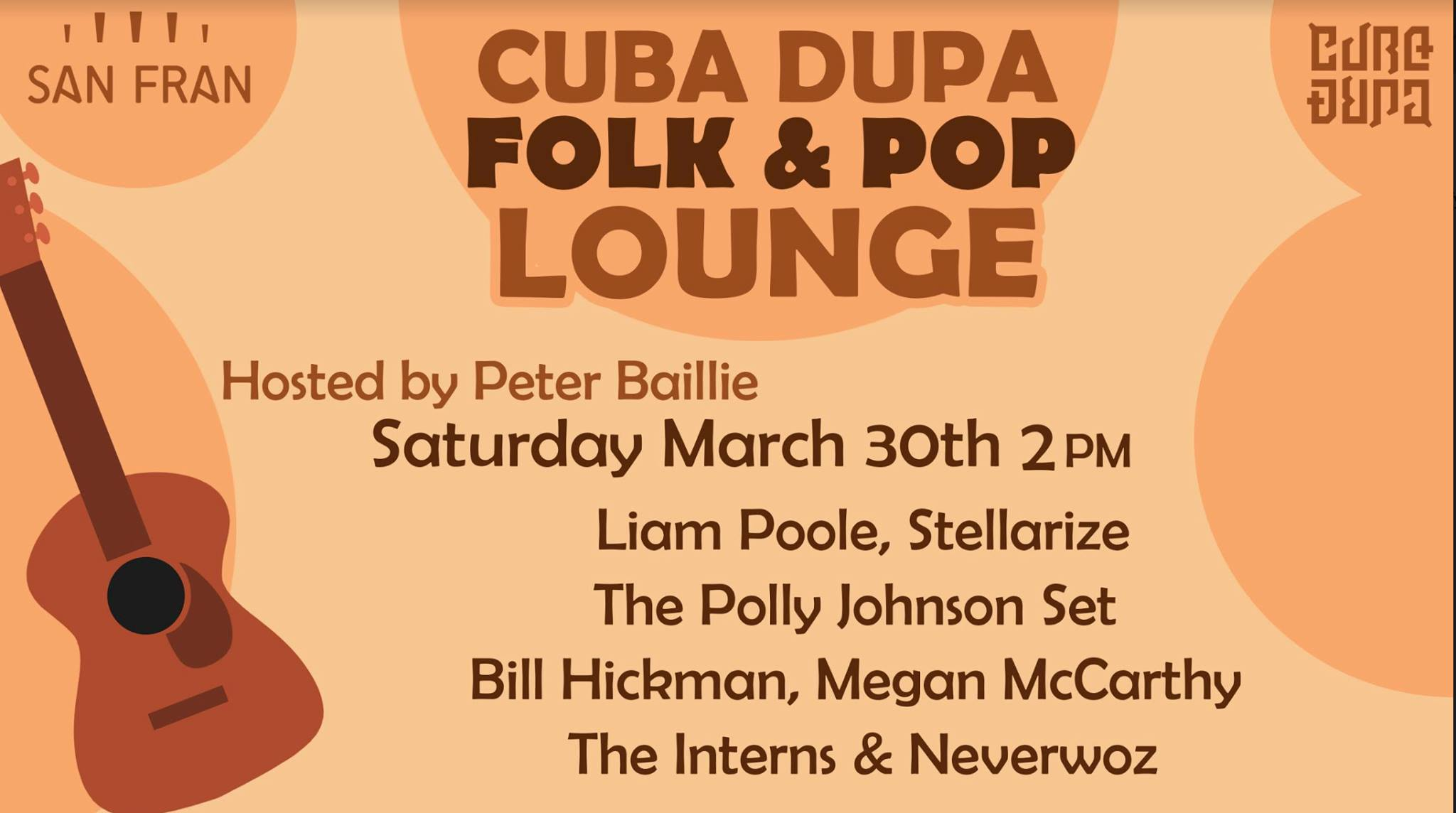 Cubadupa Folk And Pop Lounge