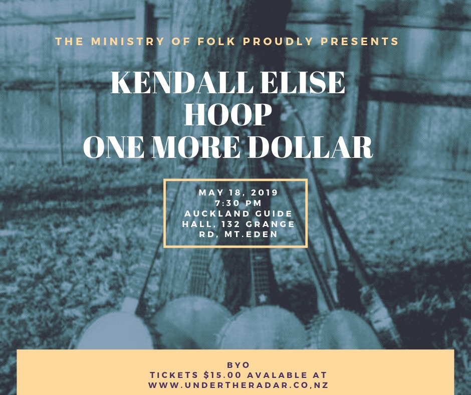 The Ministry Of Folk w/ Kendall Elise