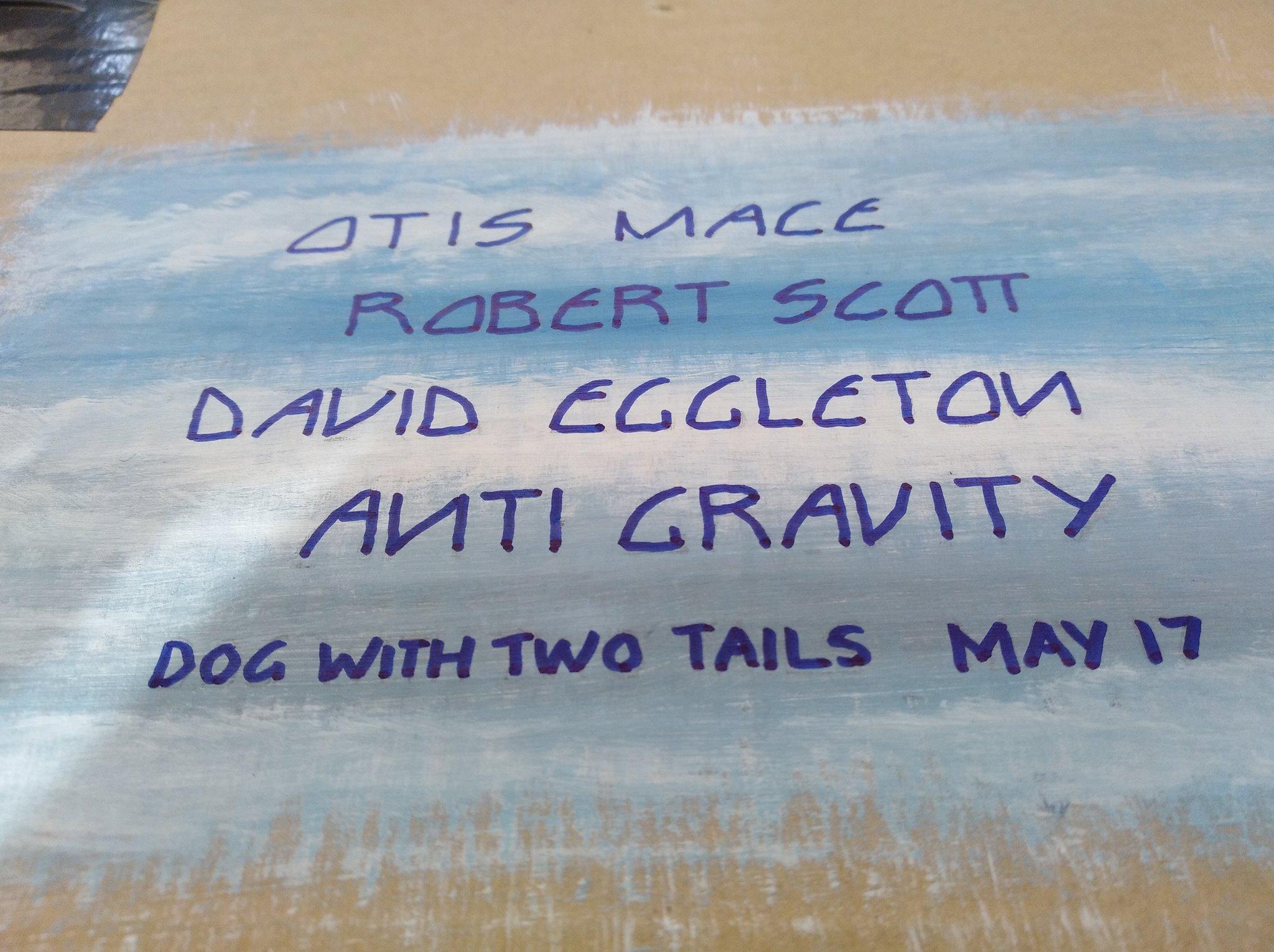 Otis Mace, Robert Scott, David Eggleton.