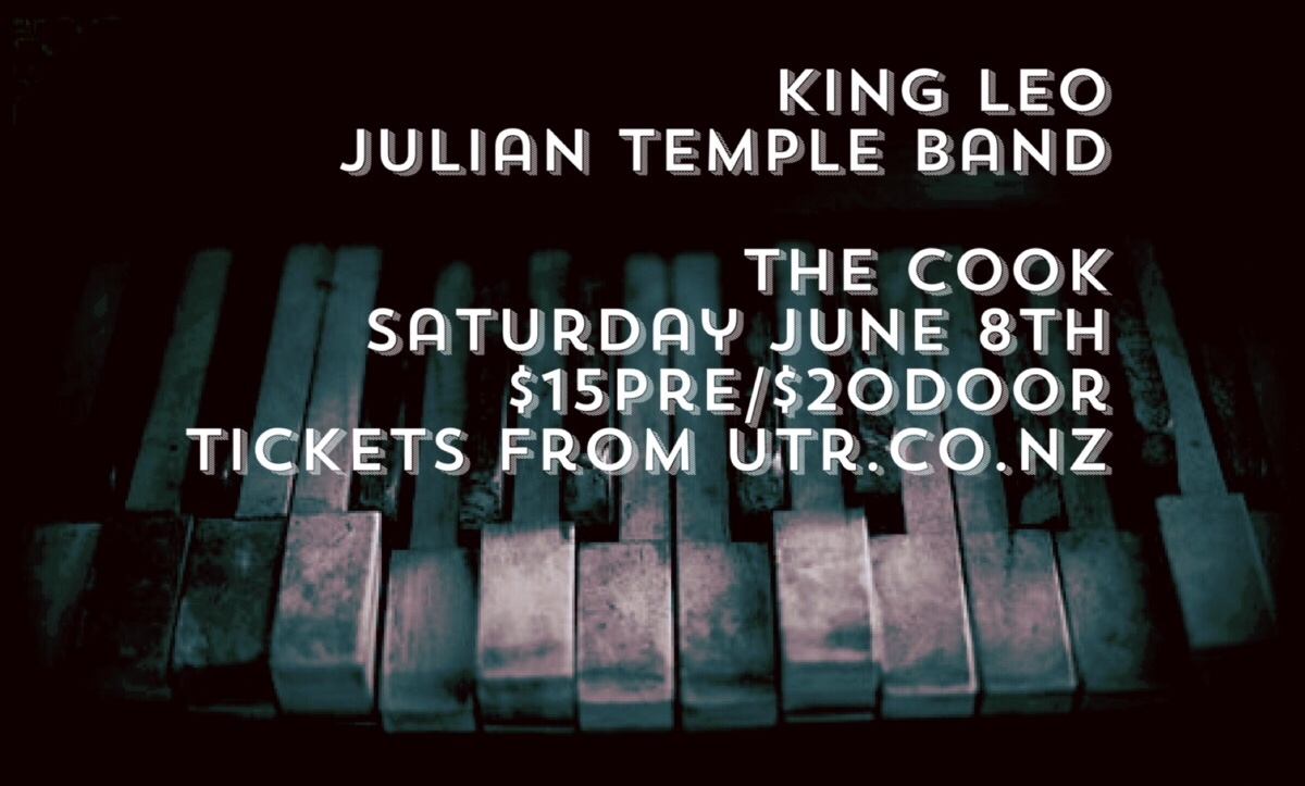 Julian Temple Band and King Leo