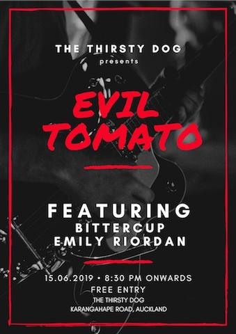 Evil Tomato, Bittercup, Emily Riordan - The Thirsty Dog