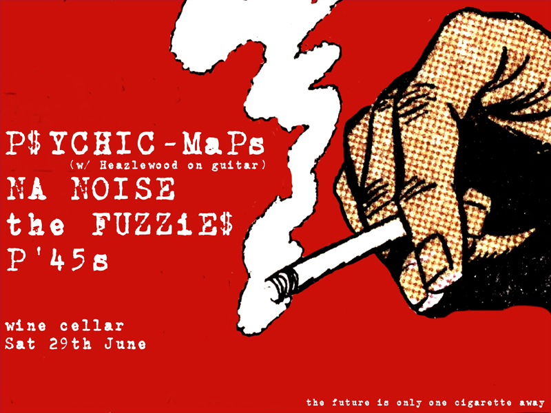 Psychic Maps and The Fuzzies On Tour