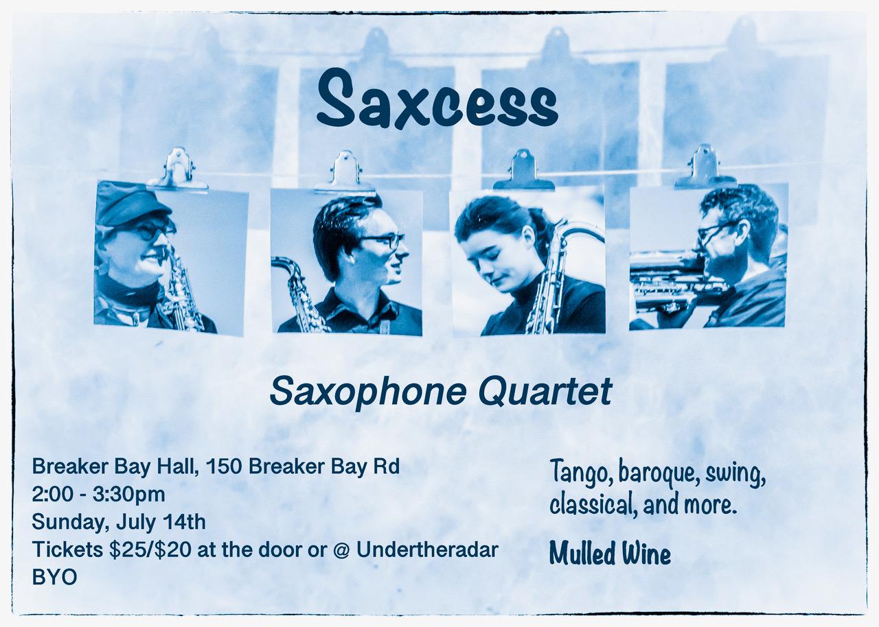 Saxcess Saxophone Quartet