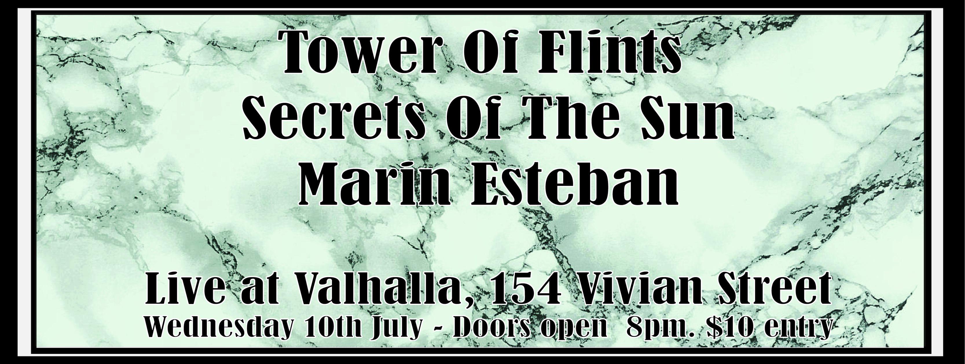 Tower of Flints, Secrets of The Sun, Marin Esteban