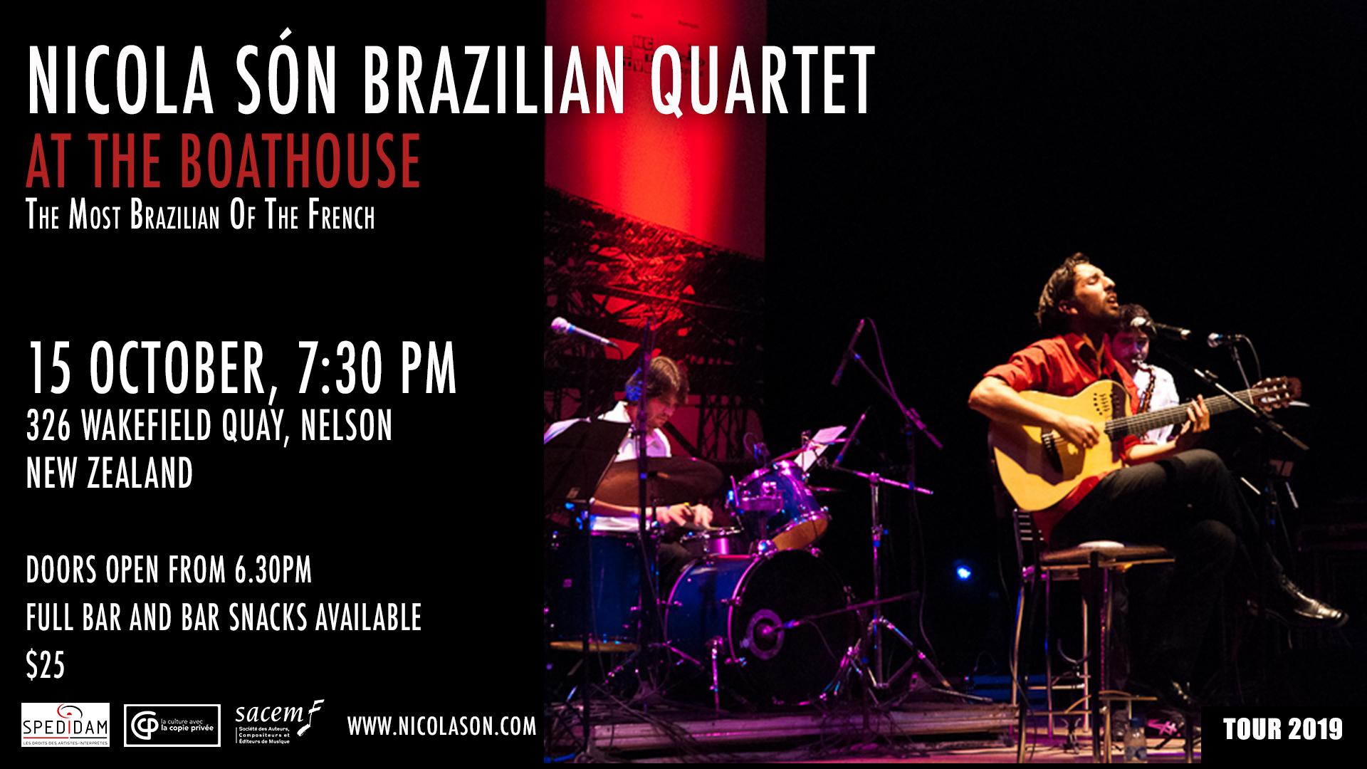 Nicola Son Brazilian Quartet.