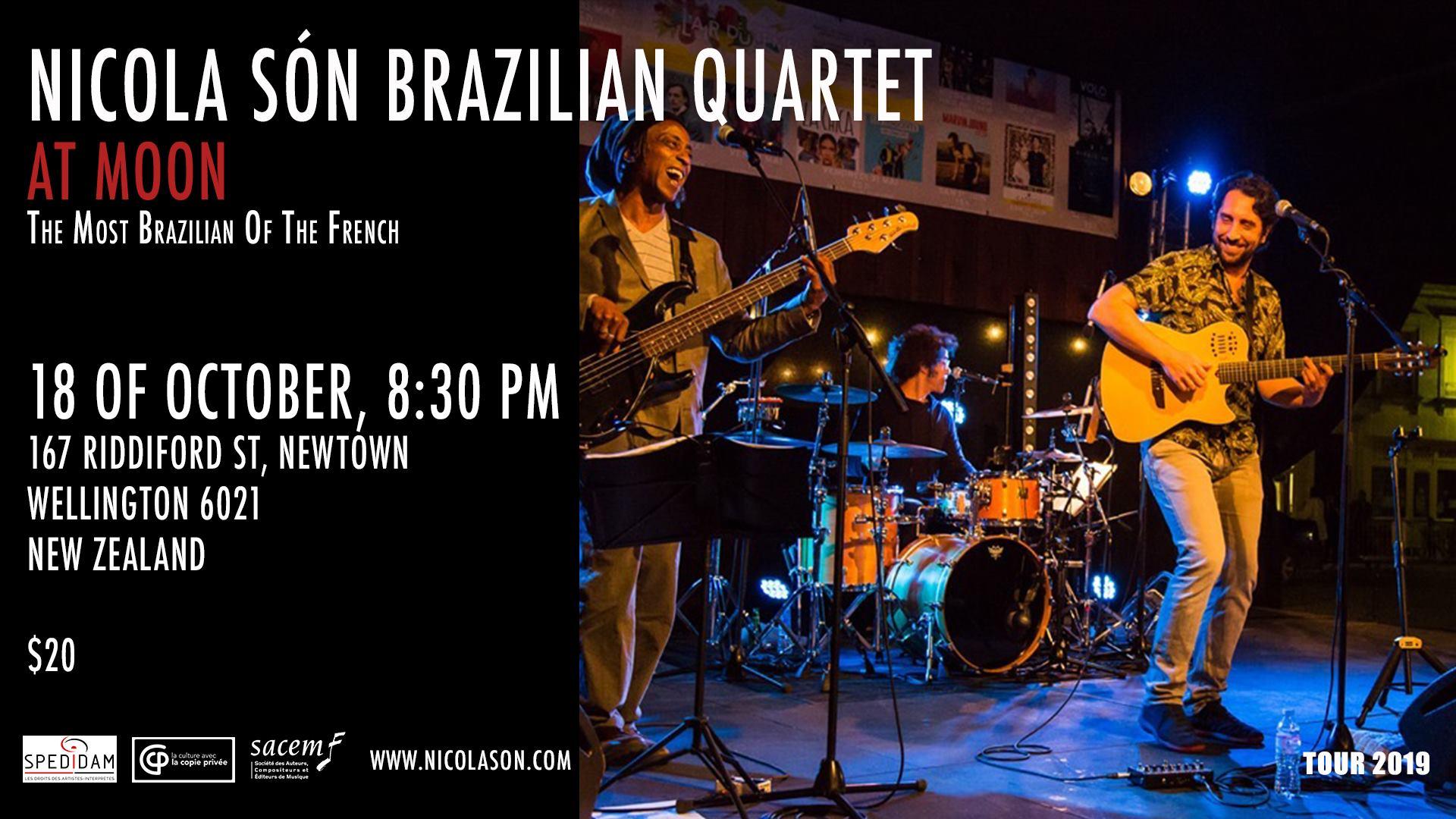 Nicola Son Brazilian Quartet