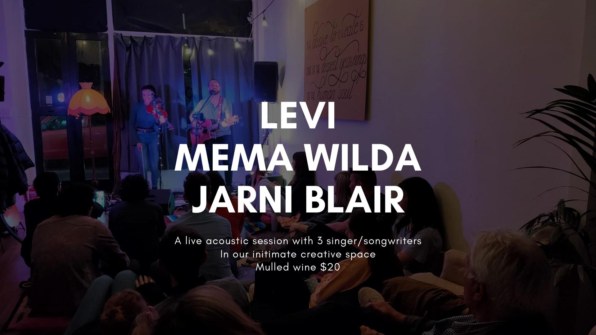 Movespace Live - Levi, Mema Wilda, Jarni Blair