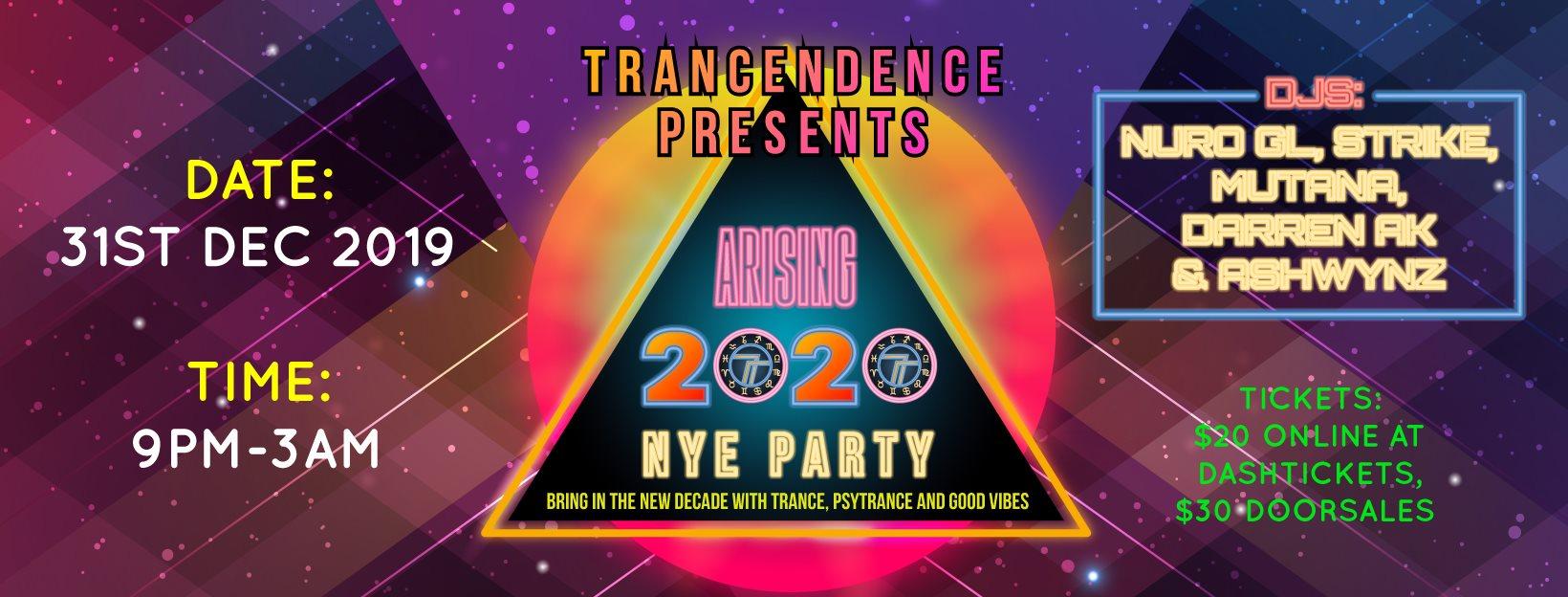 Transcendence Arising 2020
