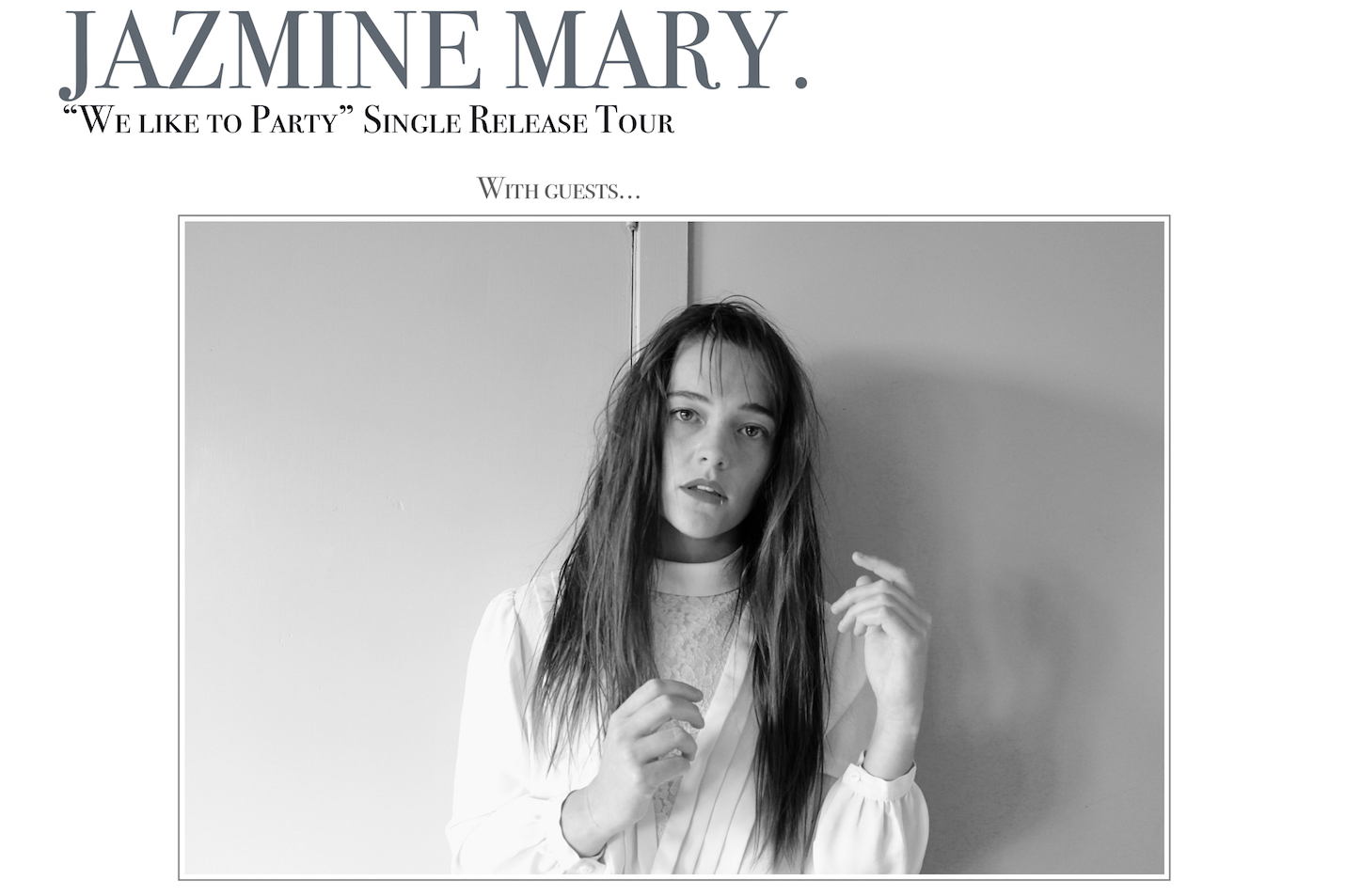 Jazmine Mary  (p.k.a Him) Single Release Tour w/ Louisa Nicklin