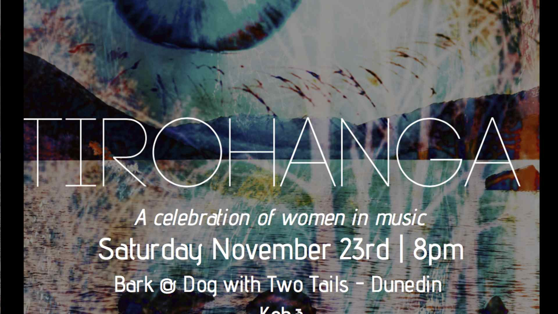 Tirohanga - A Celebration Of Women In Music