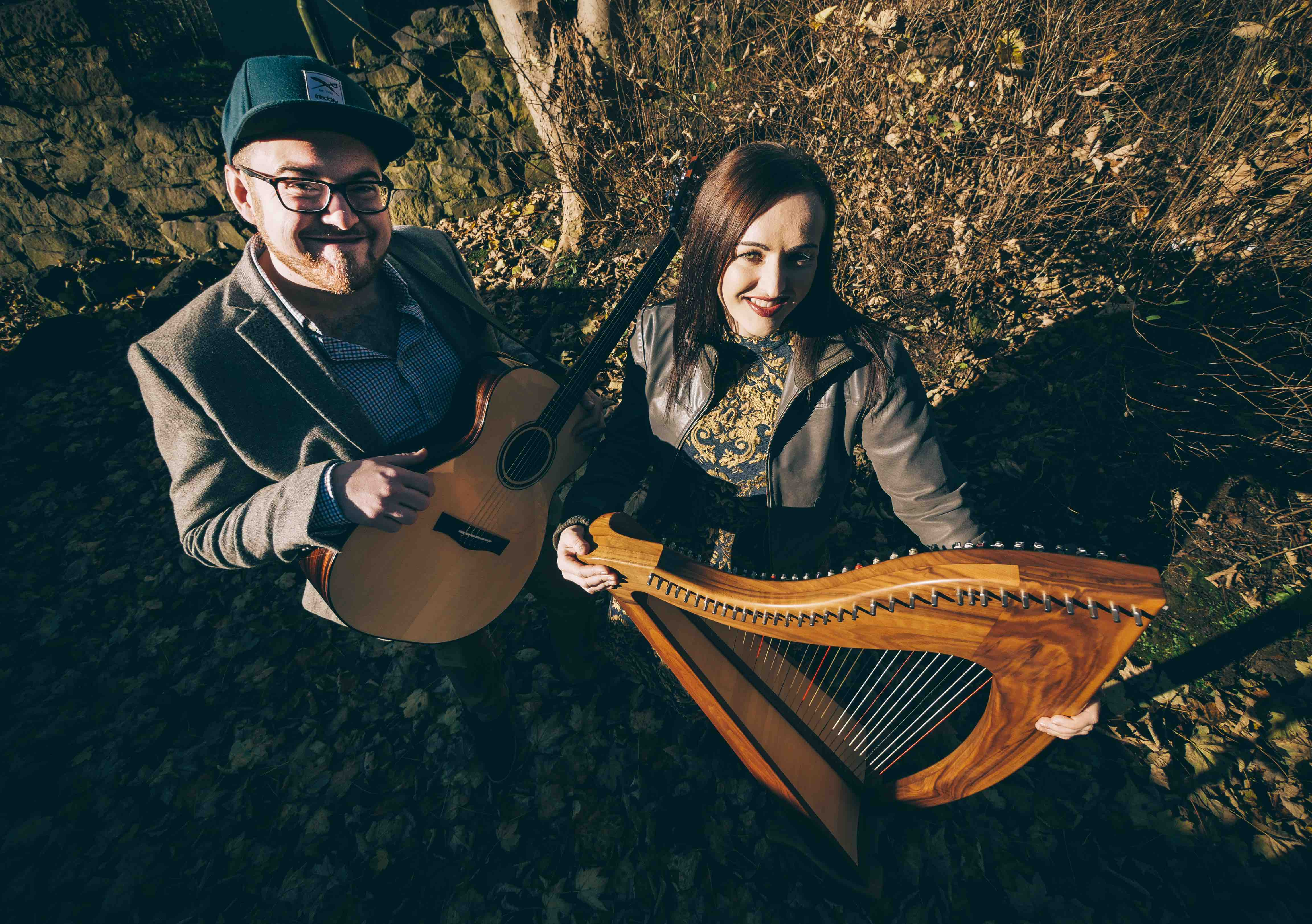 Scottish Harp and Guitar - Rachel Hair and Ron Jappy