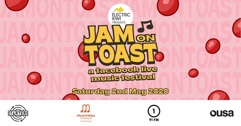 Electric Kiwi Presents: Jam On Toast w/ Randa, Mini Simmons, Paige + more