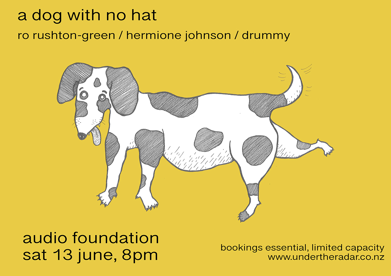 A Dog With No Hat - Hermione Johnson, Ro Rushton-Green + Drummy