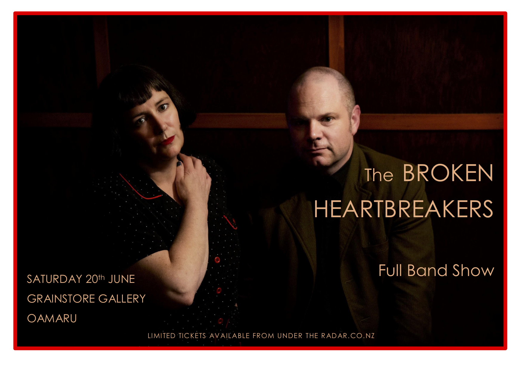 The Broken Heartbreakers Live Full Band Show