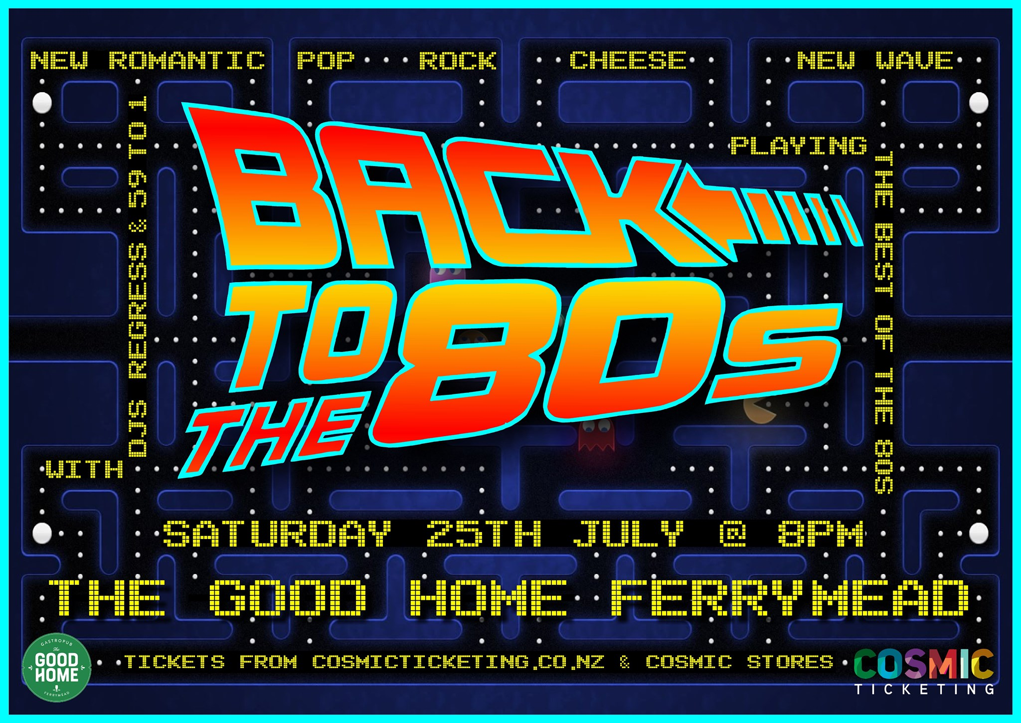 Back to the 80s - Retro music night