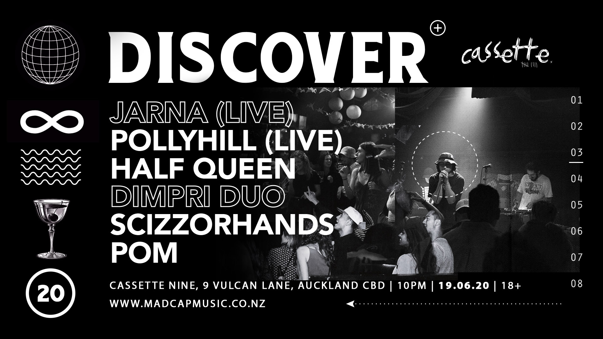 Discover Ft. Jarna, Pollyhill, Half Queen, And More