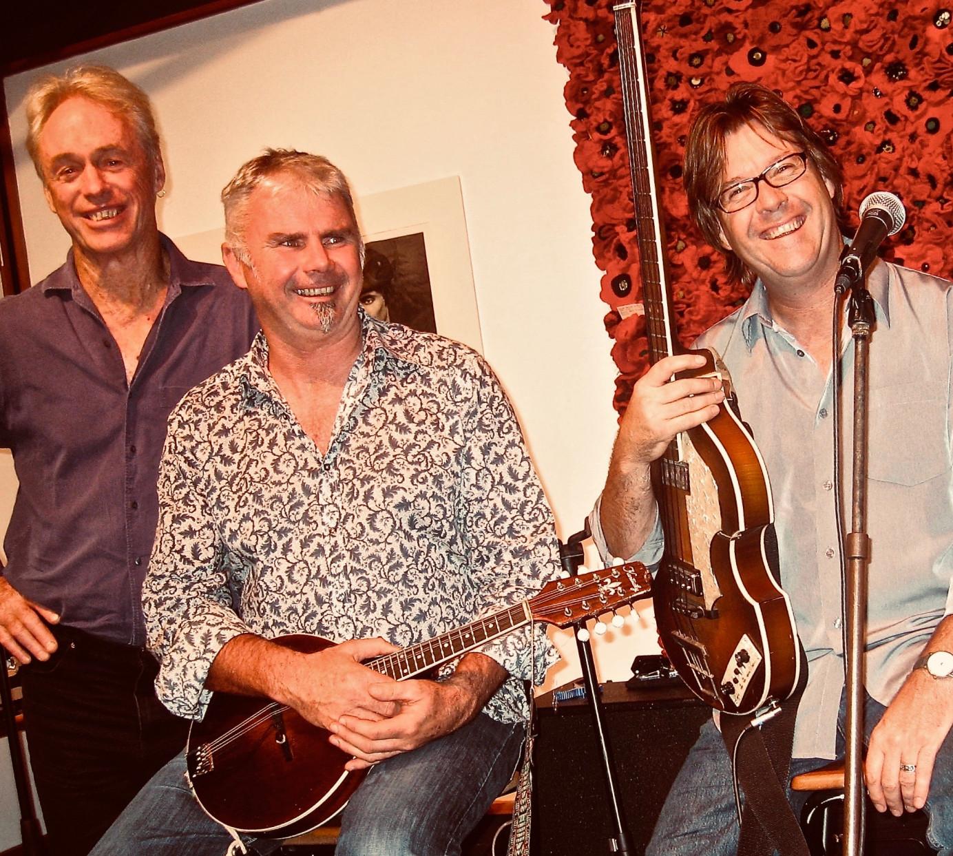 Two Many Chiefs Trio: Rob Joass, Wayne Mason and Andrew London