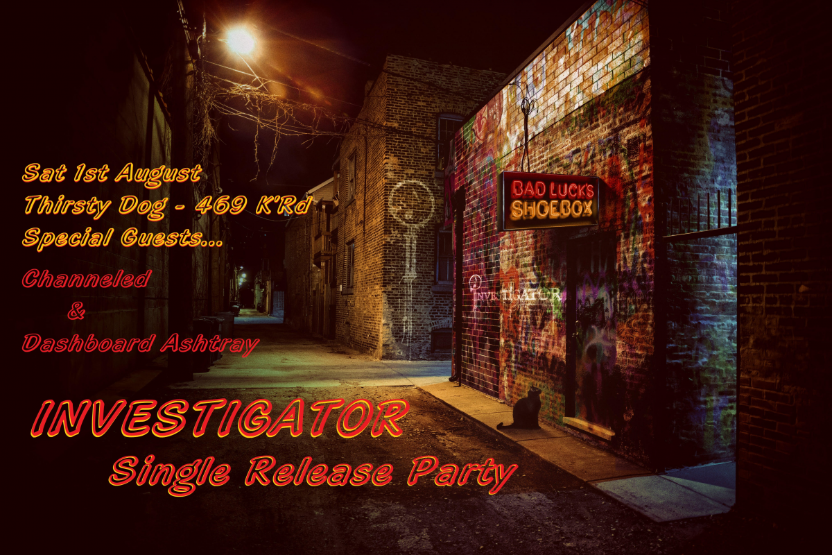 Investigator - Single Release Party!