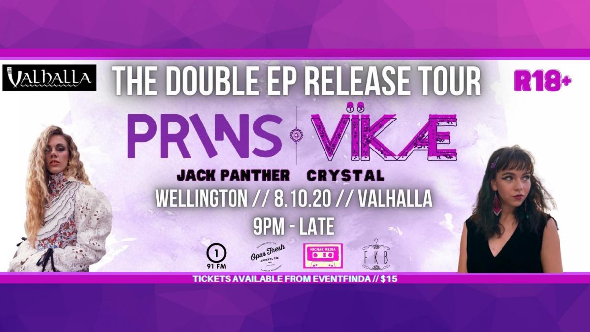 Prins / Vikae [Double EP Release Tour]