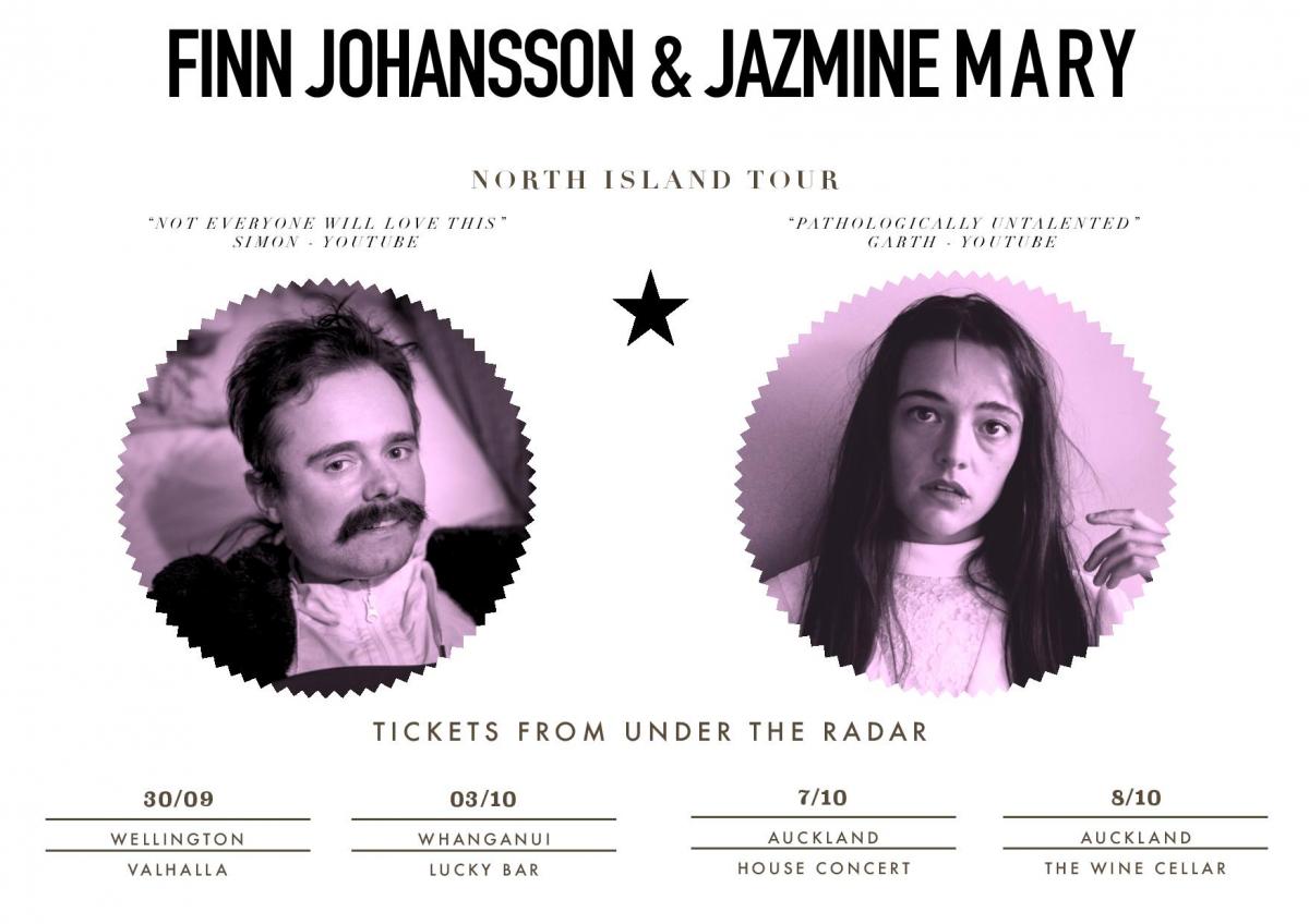 Finn Johansson and Jazmine Mary North Island Tour