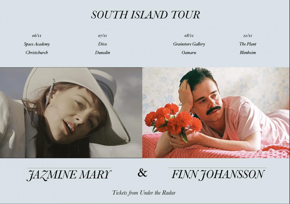 Jazmine Mary And Finn Johansson South Island Tour