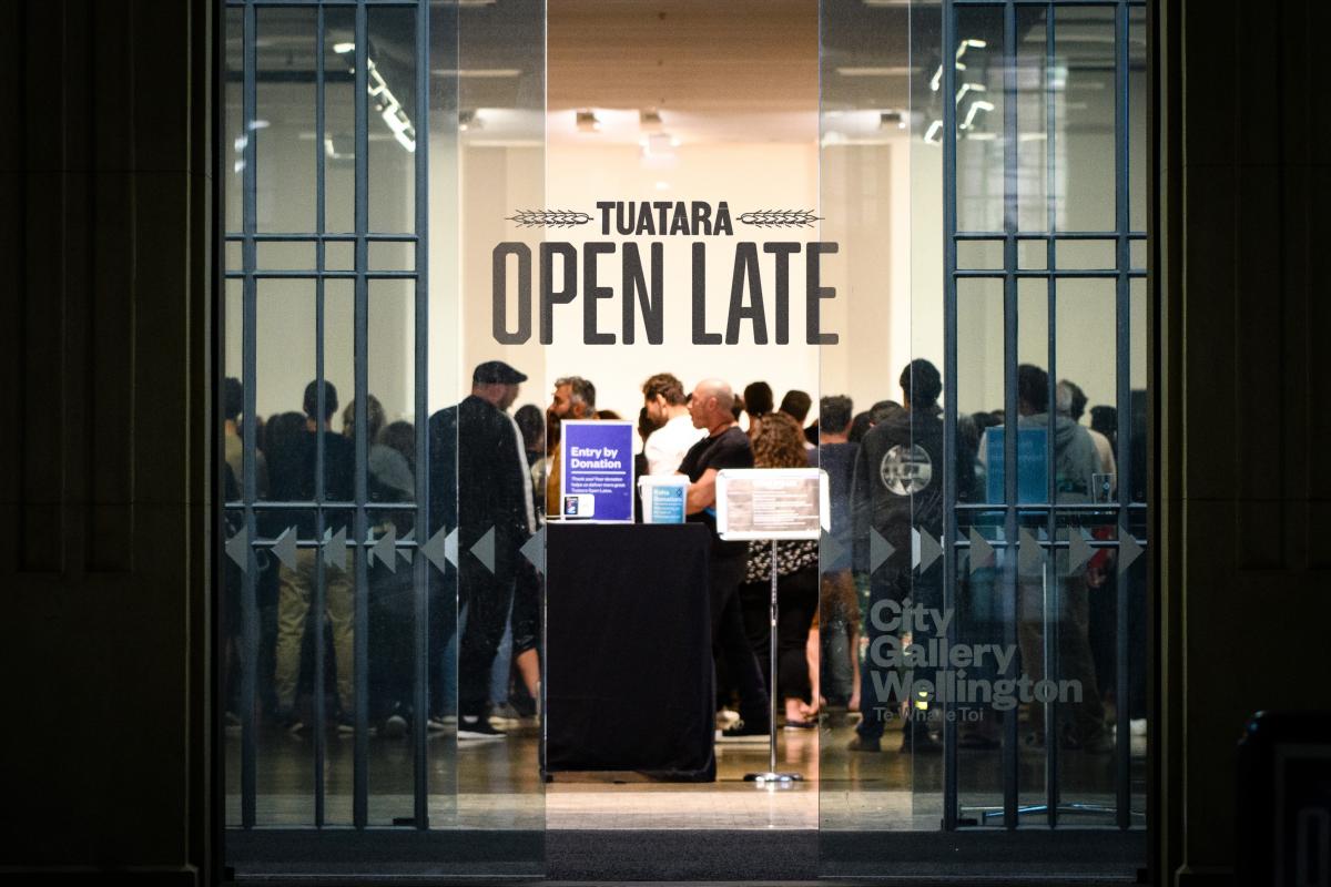 Tuatara Open Late: Terminal