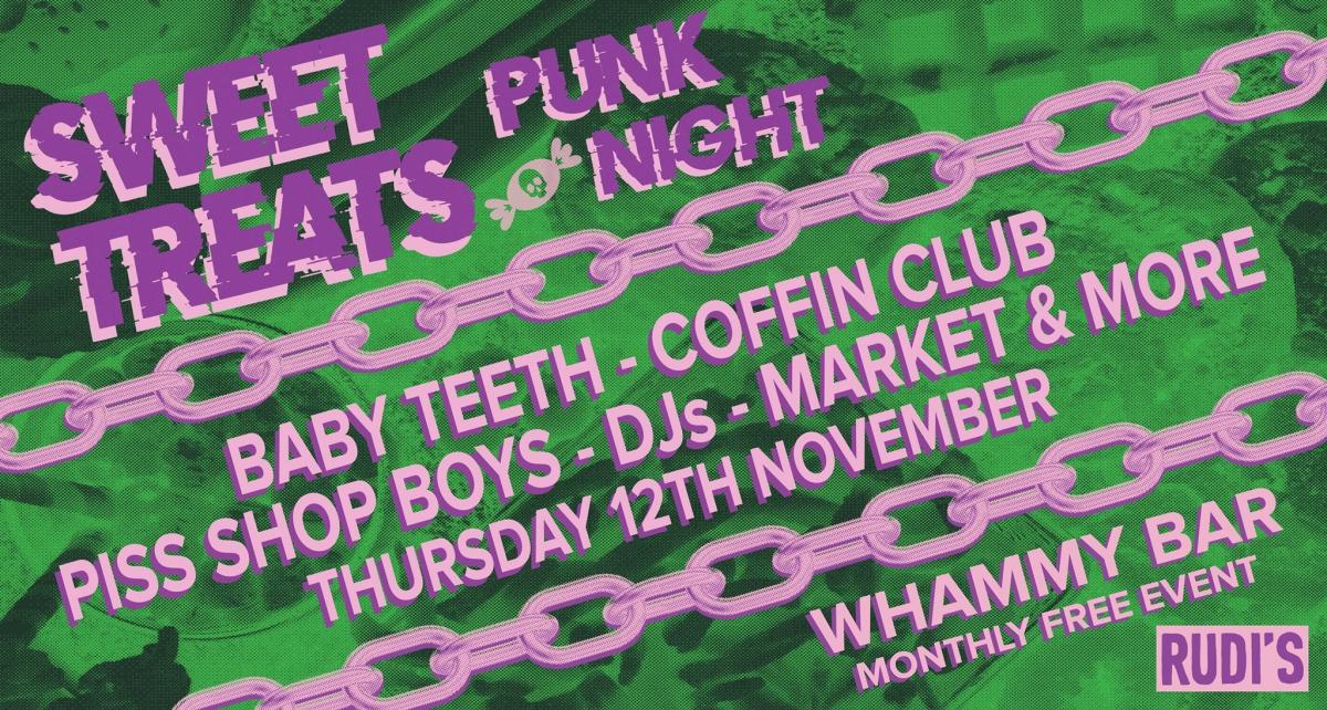 Sweet Treats Punk Night