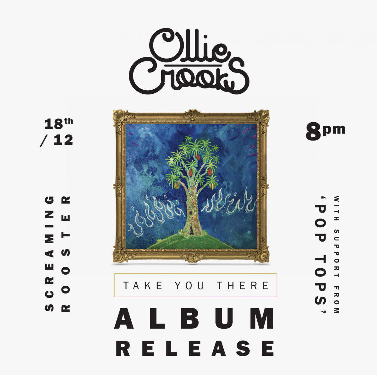 Ollie Crooks 'Take You There' Album Launch