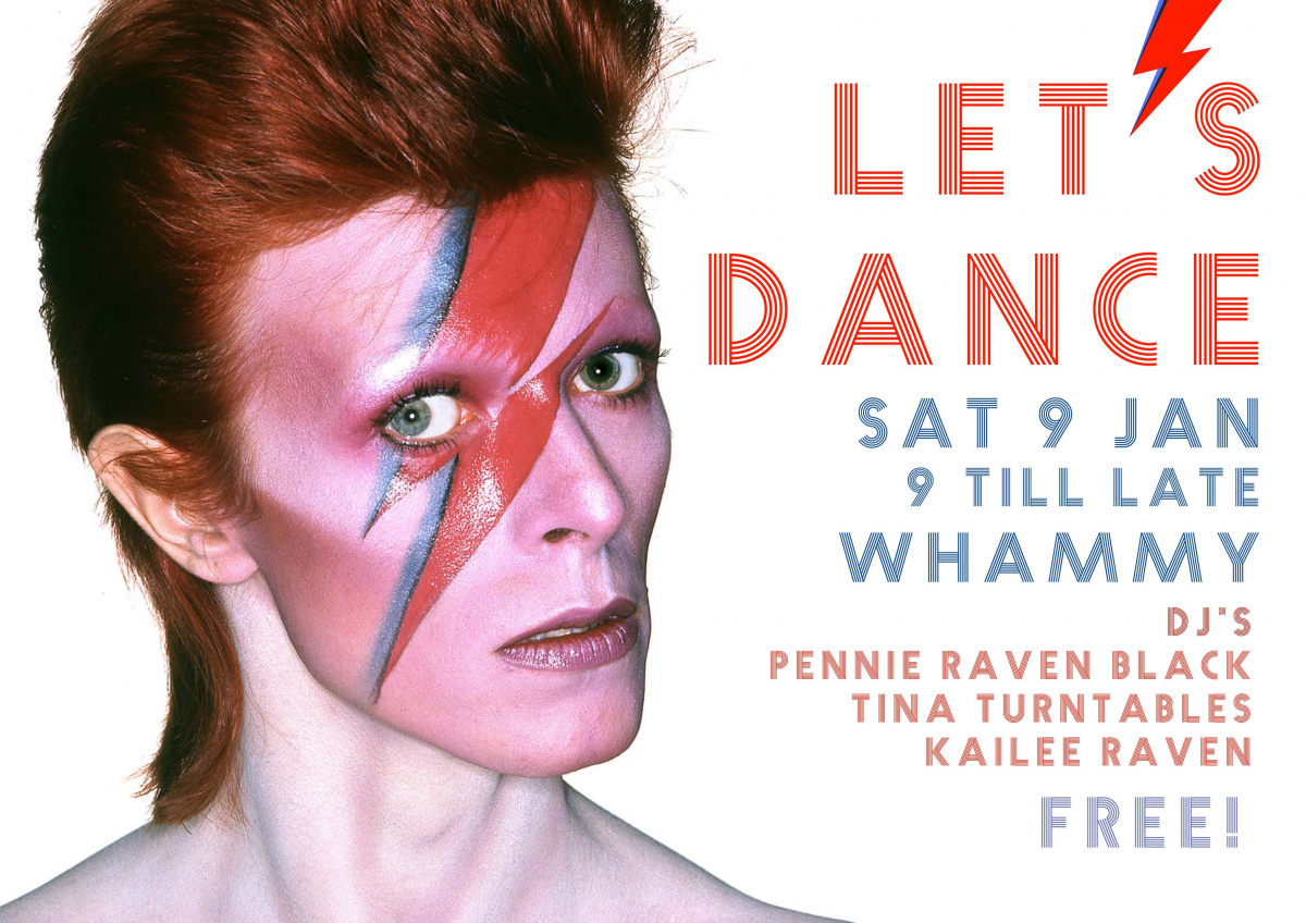 Let's Dance - Bowie Night