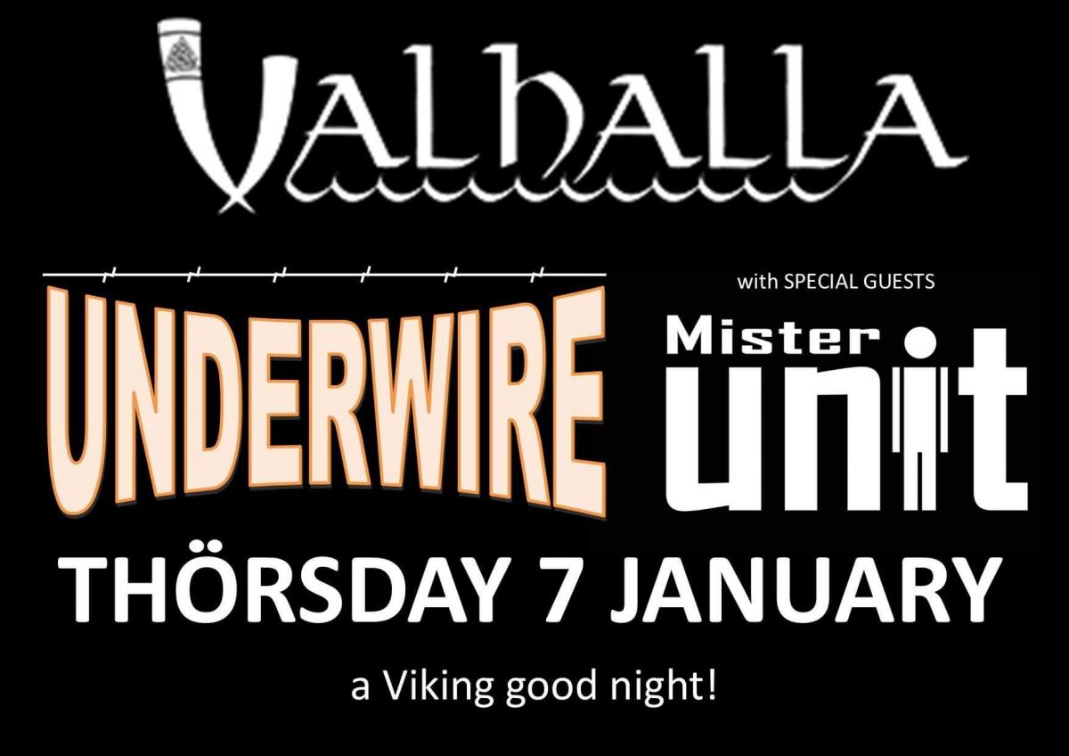 Underwire + Mr Unit