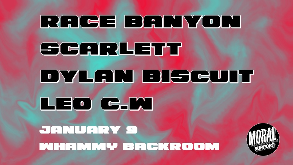 Race Banyon, Scarlett, Dylan Biscuit And Leo C.W.