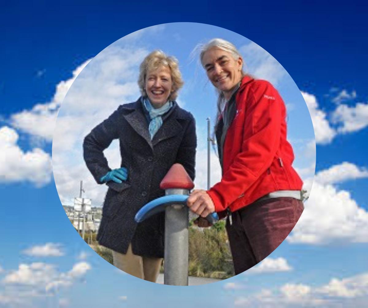 Peninsula Envy: Imogen Coxhead And Sue Galvin