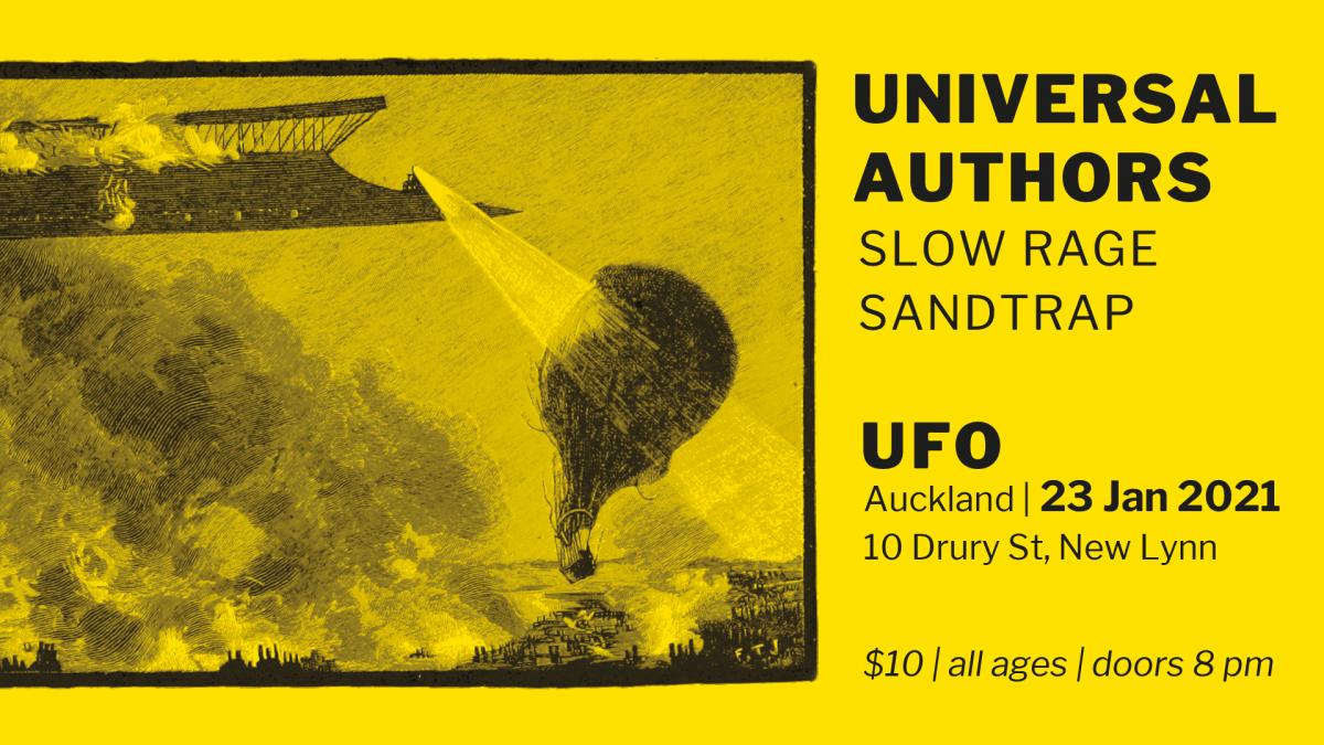 Universal Authors + Slow Rage + Sandtrap