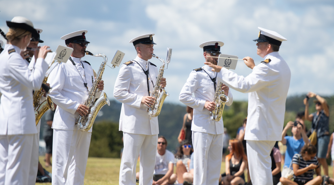 The Royal New Zealand Navy Band - Auckland Live Summer In The Square