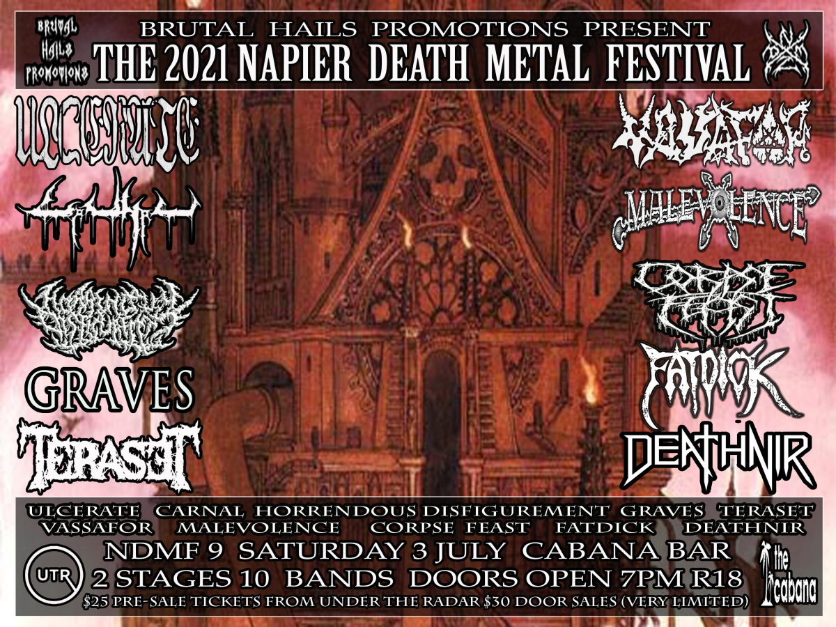 The 2021 Napier Death Metal Festival 9