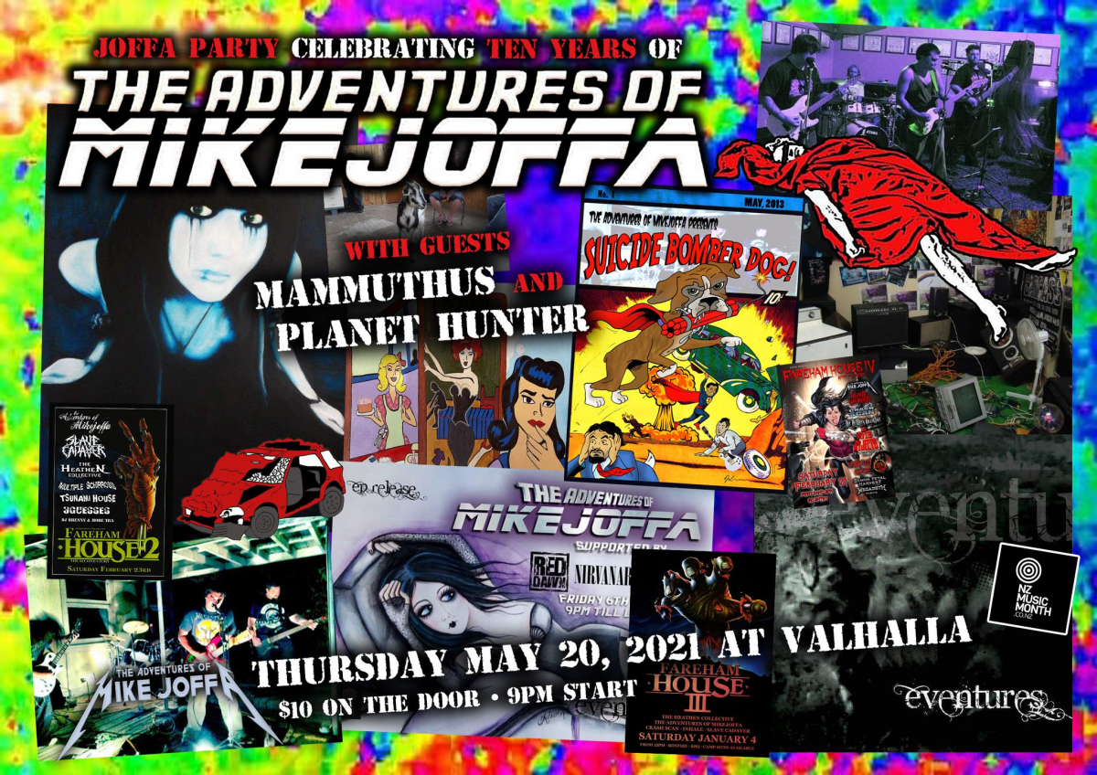 The Adventures Of Mikejoffa 10 Yr Anniversary Show