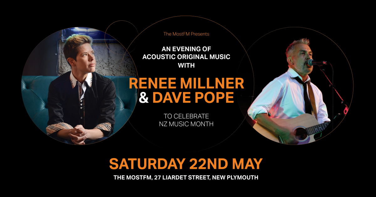 Renee Millner And Dave Pope: An Evening Of Acoustic Original Music.
