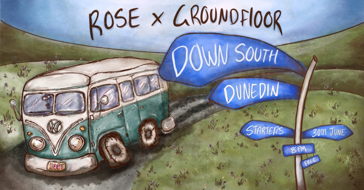 Rose X Groundfloor Down South - Starters Bar