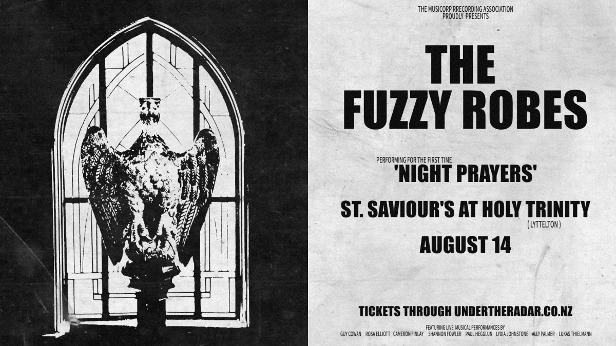 The Fuzzy Robes - Performing 'Night Prayers'