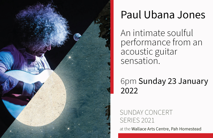 New Date: Sunday Concert Series: Paul Ubana Jones