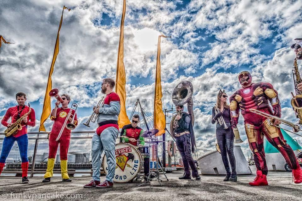 Funk And Fusion Fursdays: Superhero Second Line